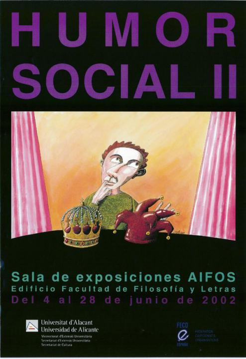 Cartel de la Universidad de Alicante